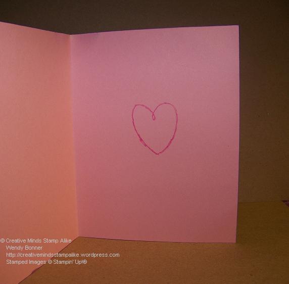 February Card Inside